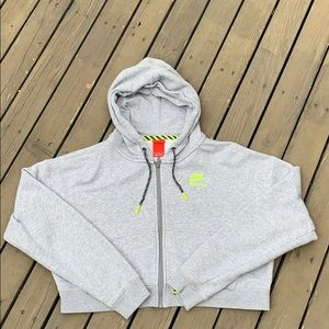 "NWOT- Nike "" Track and Field"" Crop Hoodie"
